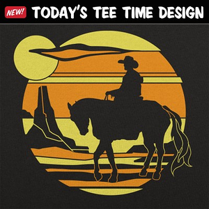 6 Dollar Shirts: Cowboy Sunset