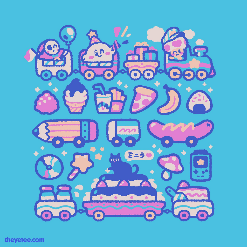 The Yetee: Party Train
