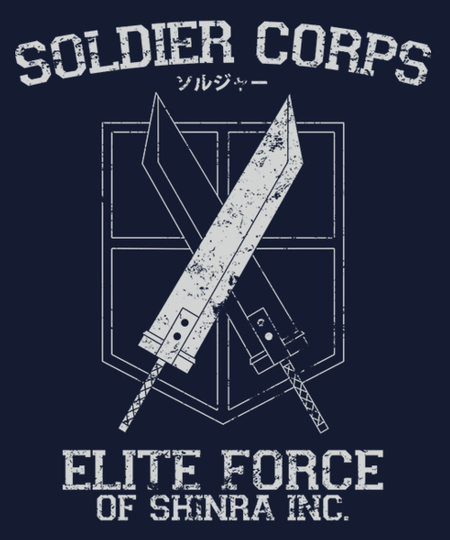 Qwertee: Soldier Corps