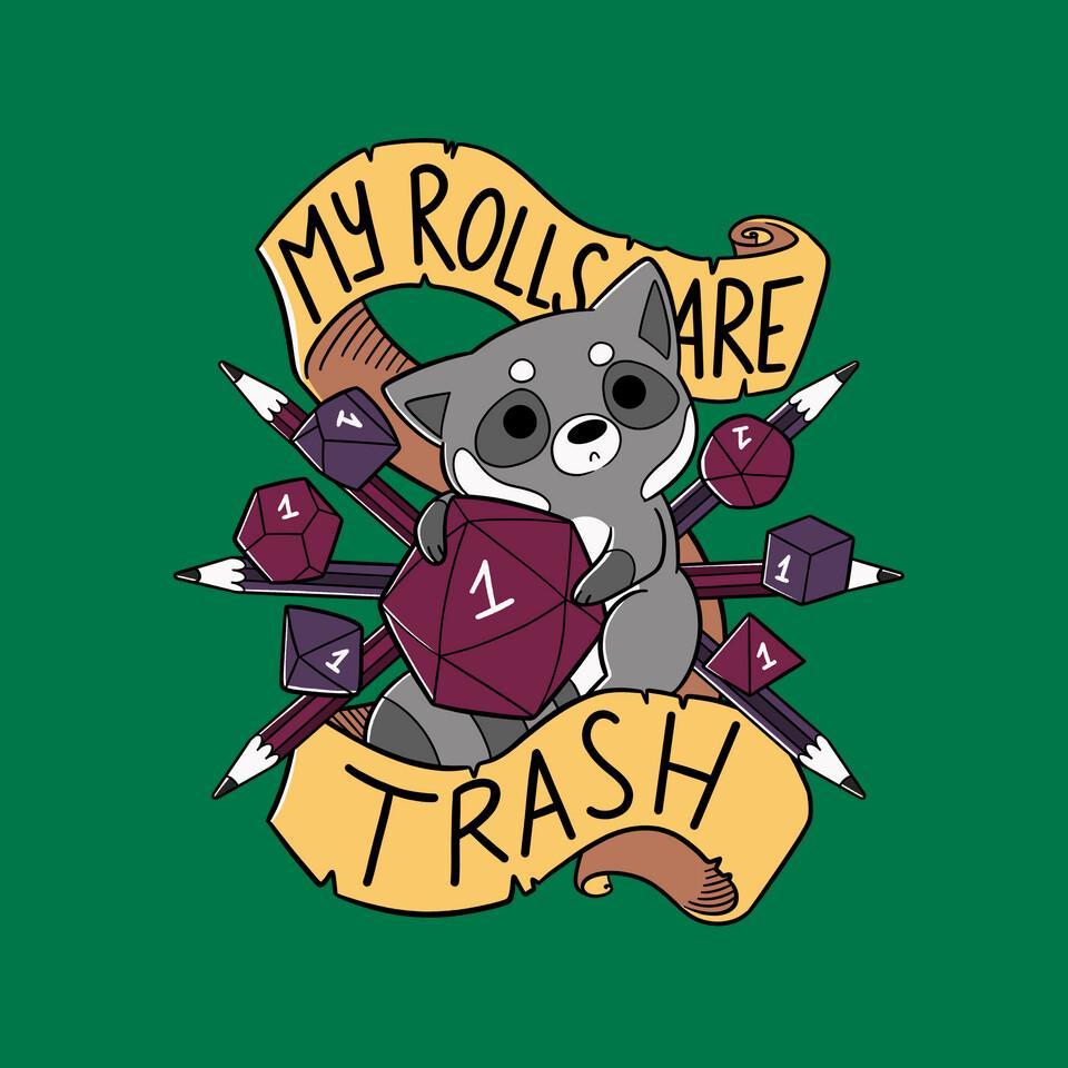TeeFury: RPG Raccoon