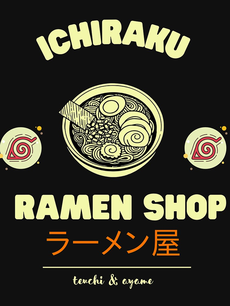RedBubble: Ichirak ramen hidden leaf naruto aesthetic konoha gakure best anime & manga gift on 2021 hatake kakashi