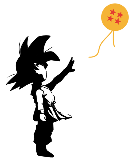 Qwertee: Goku and the sphere
