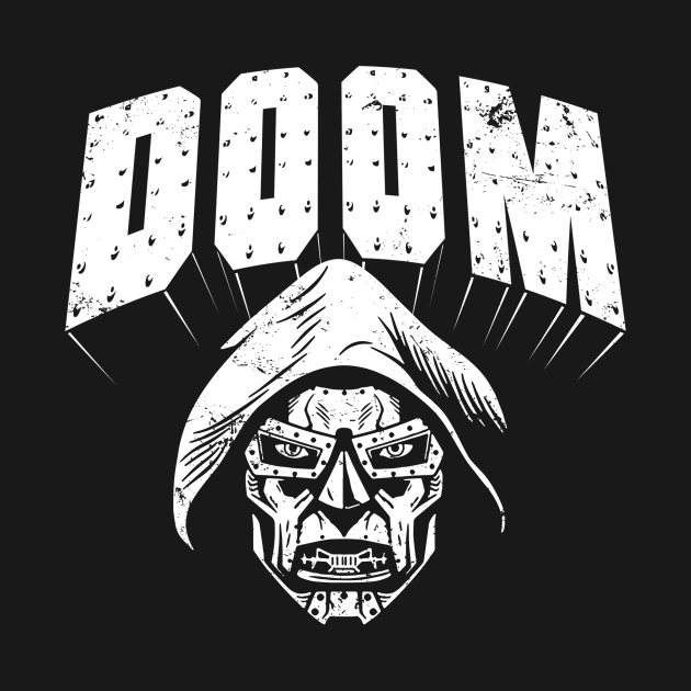 TeePublic: DOOM (For Dark Shirts)