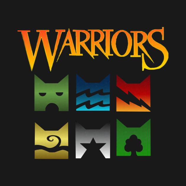 TeePublic: Warriors -Cat Logo Funny T-Shirt