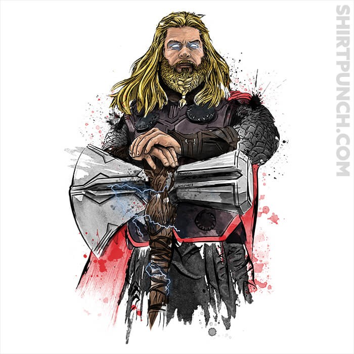 ShirtPunch: God Of Thunder Watercolor