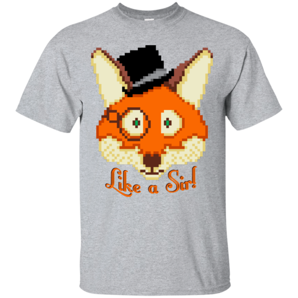 Pop-Up Tee: Like A Sir