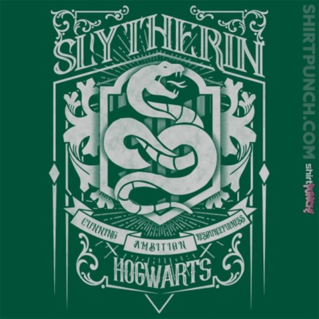 ShirtPunch: Wizardry Serpent House
