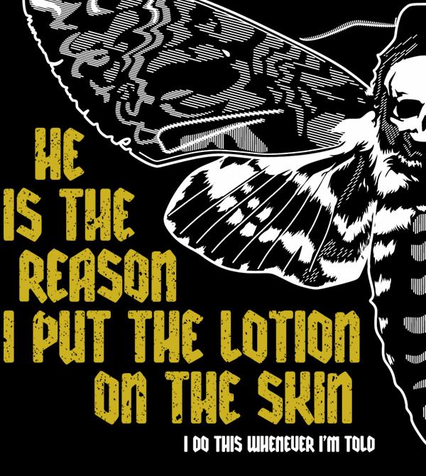 teeVillain: Lotion on my Skin