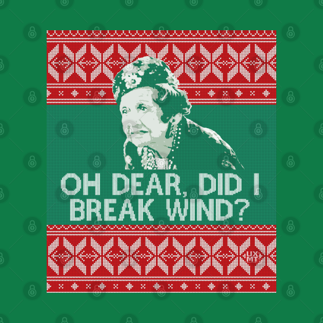 TeePublic: Did I Break Wind? - ugly christmas sweater