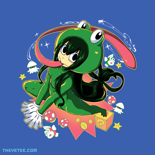 The Yetee: Froppy suit