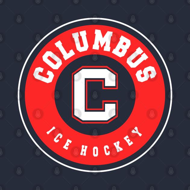 TeePublic: Columbus ice hockey