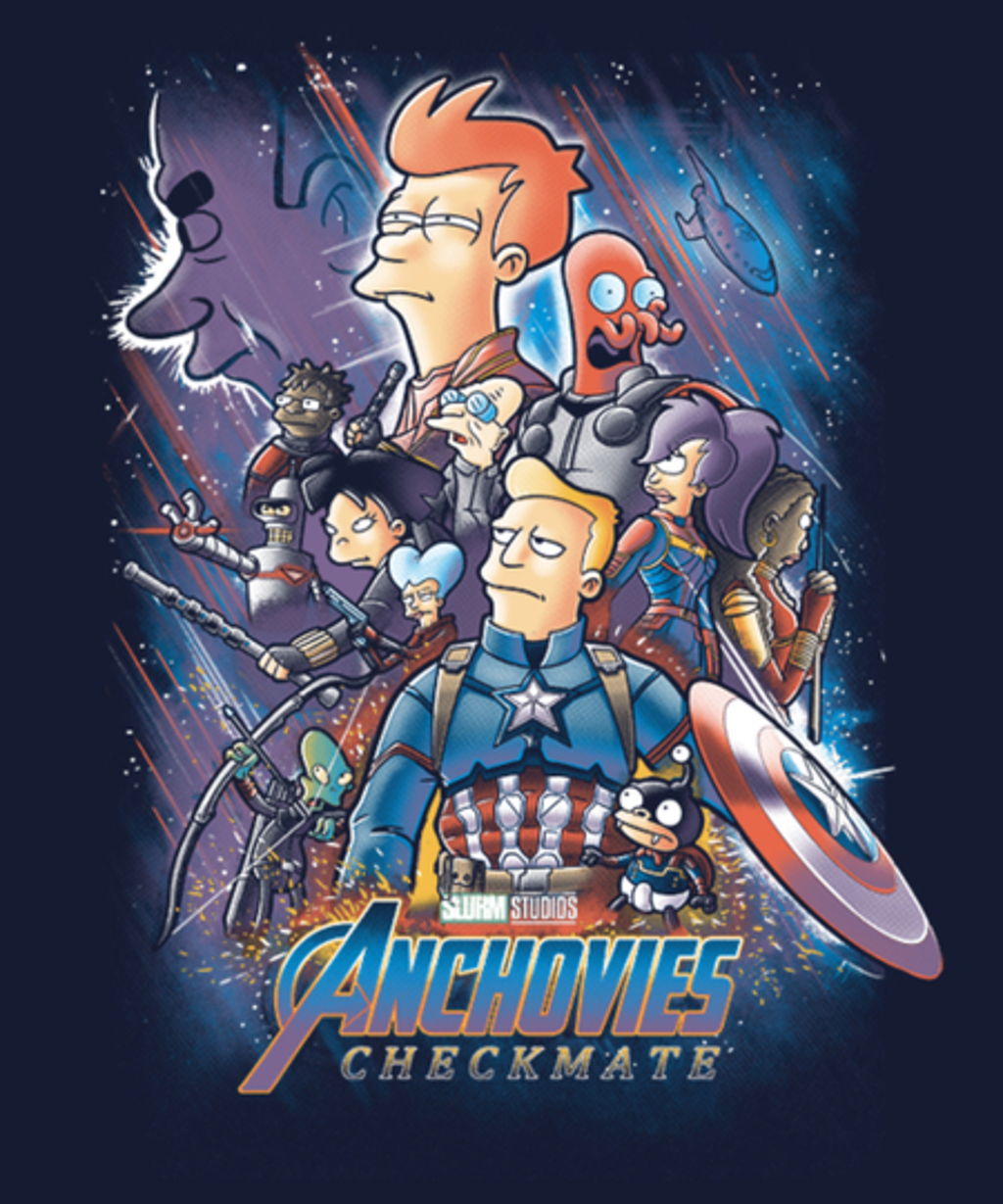 Qwertee: Anchovies checkmate