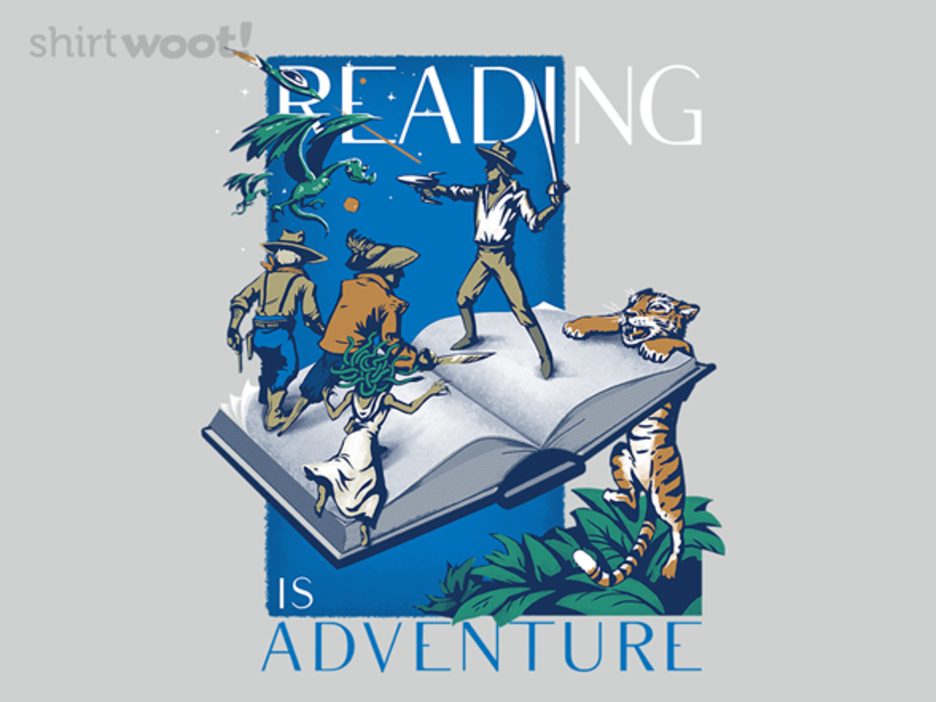 Woot!: Adventure Awaits in Books!