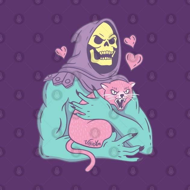 TeePublic: Skeletor's Cat