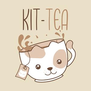 TeePublic: Kit-Tea