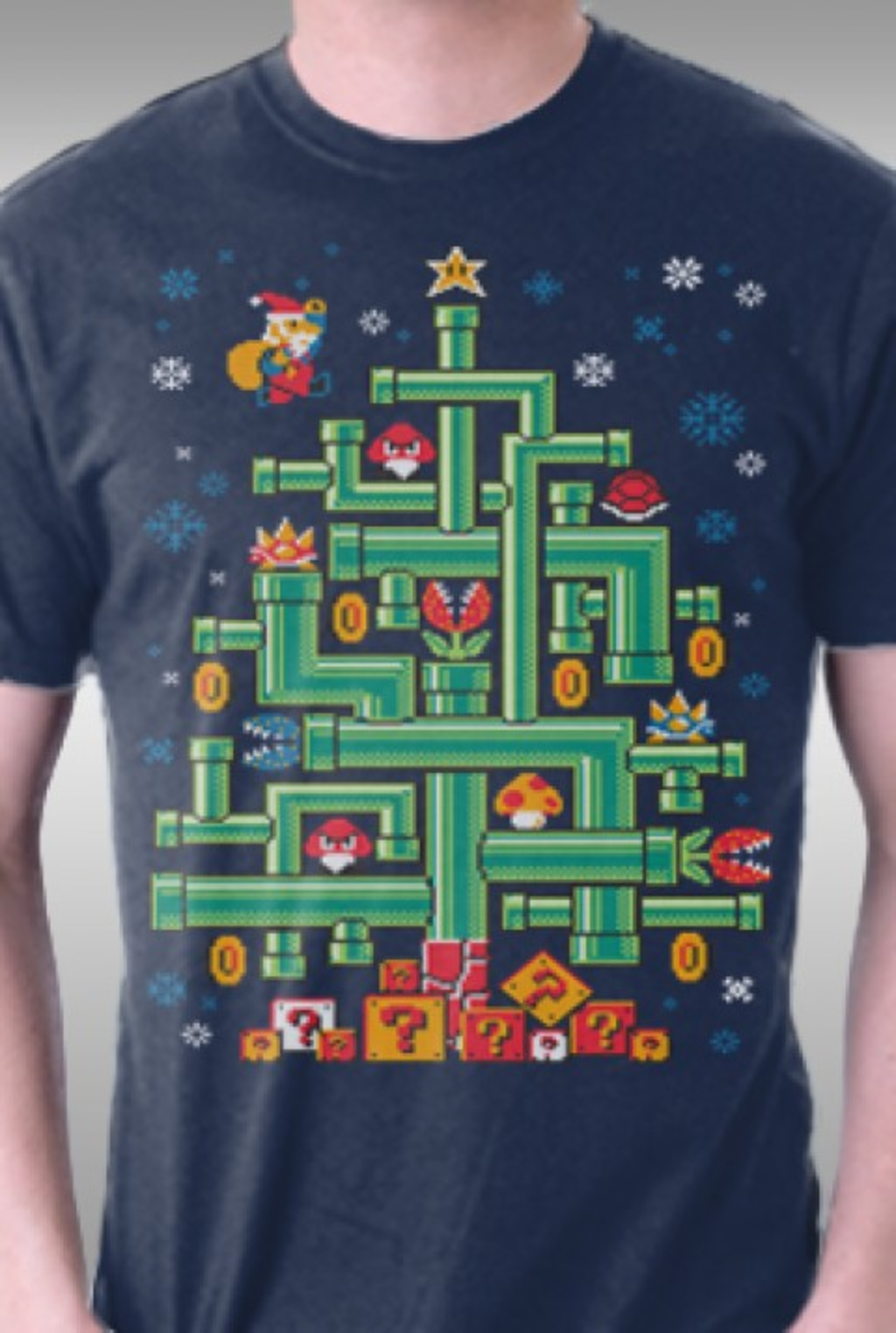 TeeFury: It's a Tree, Mario!