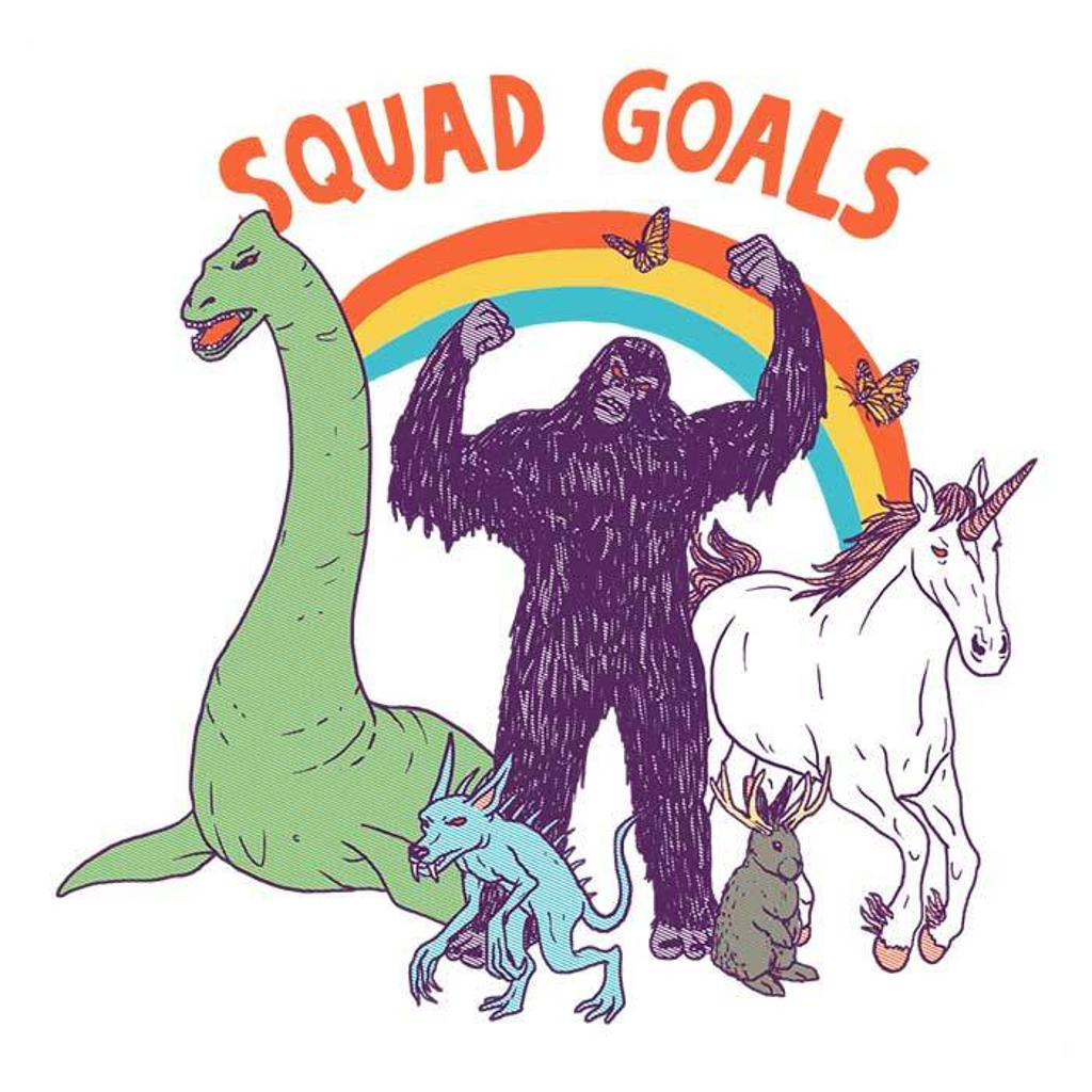Once Upon a Tee: Mythical Squad Goals