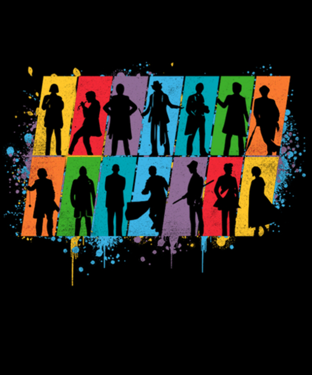 Qwertee: Time Lord