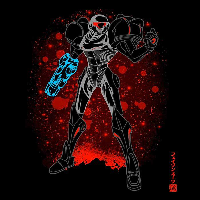 Once Upon a Tee: The Phazon Suit