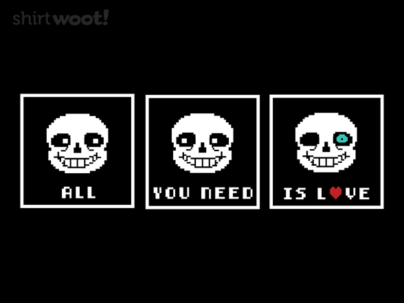 Woot!: All You Need Is Undertale
