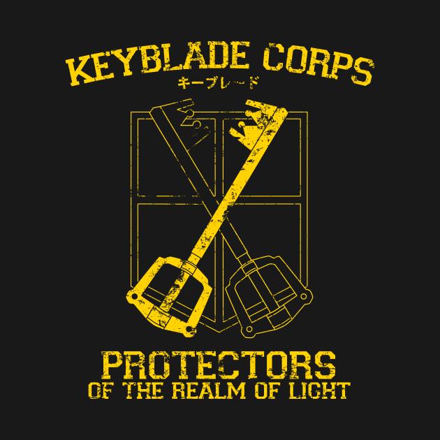 TeePublic: Keyblade Corps