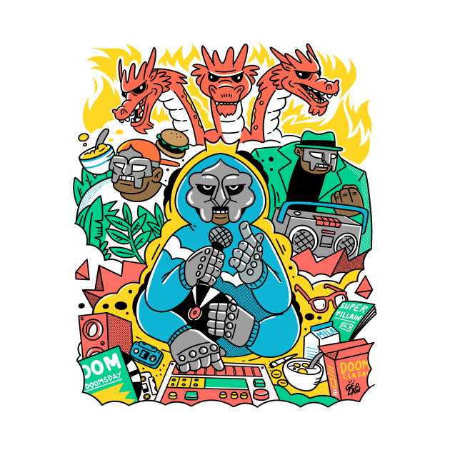 TeePublic: MF DOOM & FRIENDS
