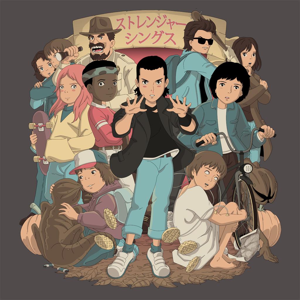 TeeTee: Stranger Anime
