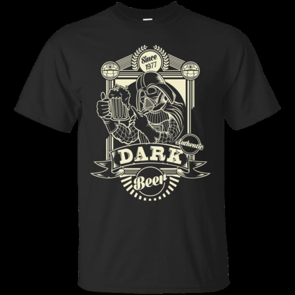 Pop-Up Tee: Dark Beer