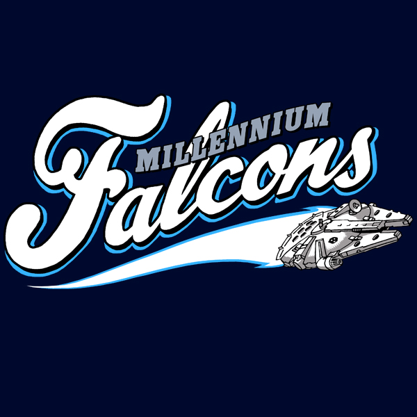 GraphicLab: Millennium Falcons