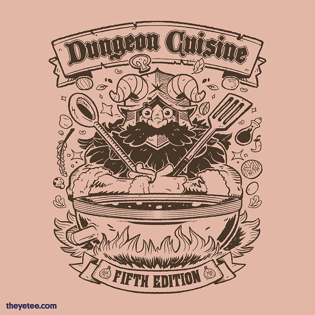 The Yetee: Dungeon Cooking