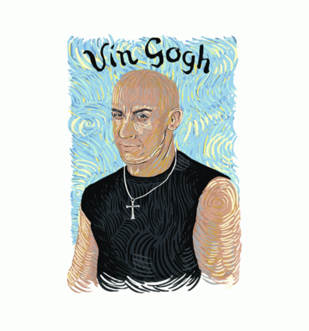 BustedTees: Vin Gogh