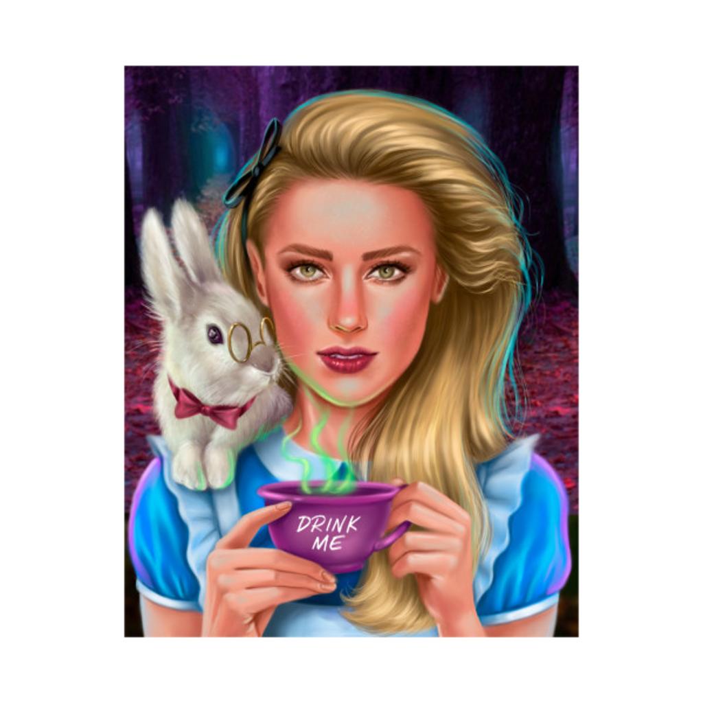 TeePublic: Alice in wonderland