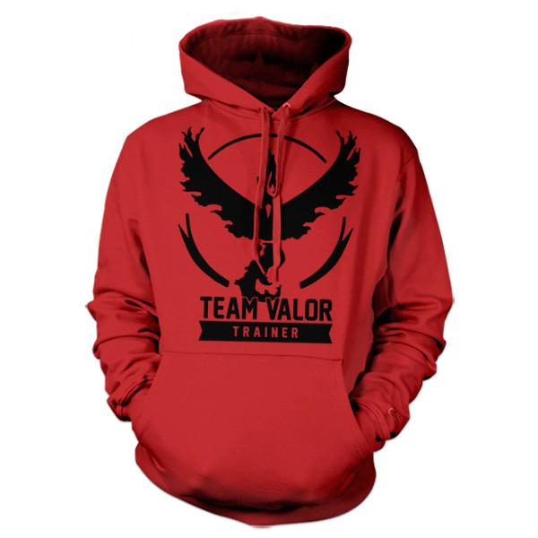 Five Finger Tees: Team Valor Hoodie