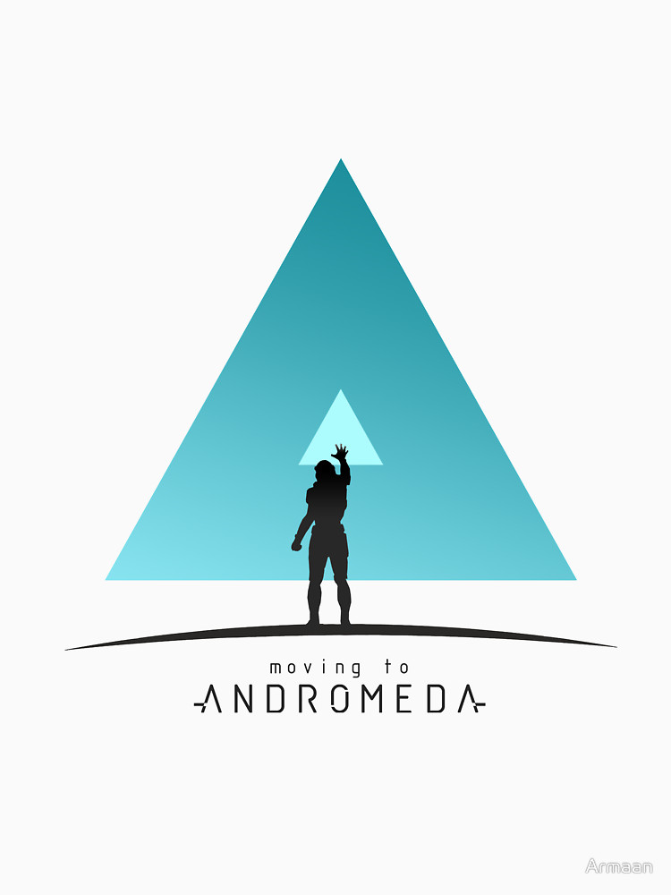 "RedBubble: Mass Effect ""Moving to Andromeda"""