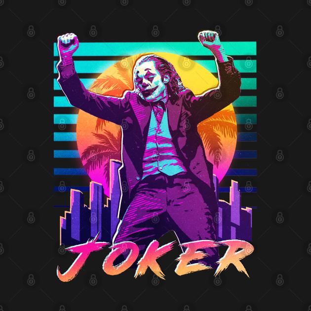 TeePublic: Joker, Joaquin phoenix vintage v1