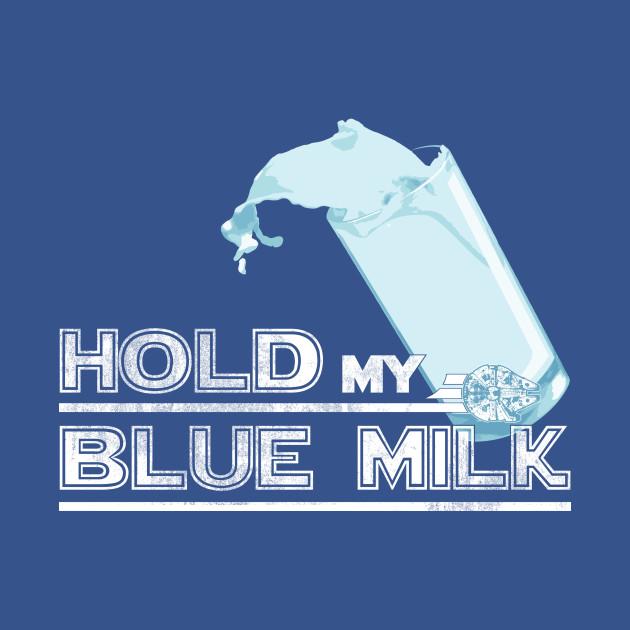 TeePublic: Blue Milk