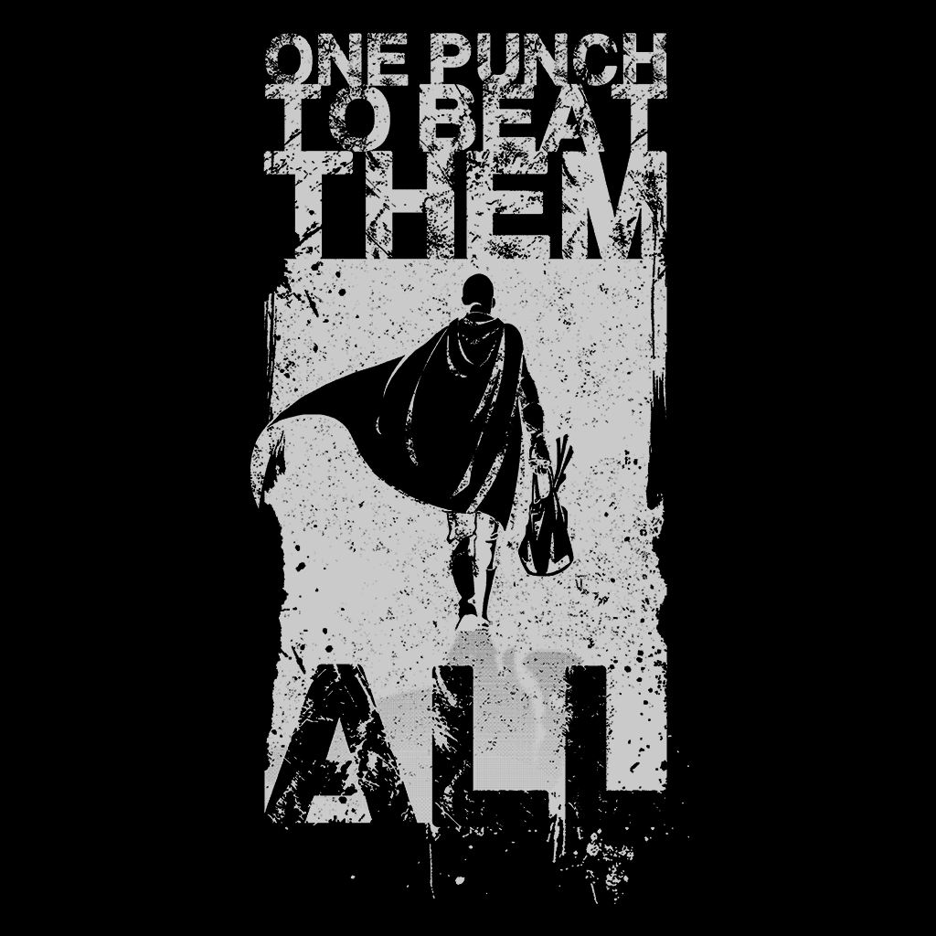 Pop-Up Tee: Just One Punch