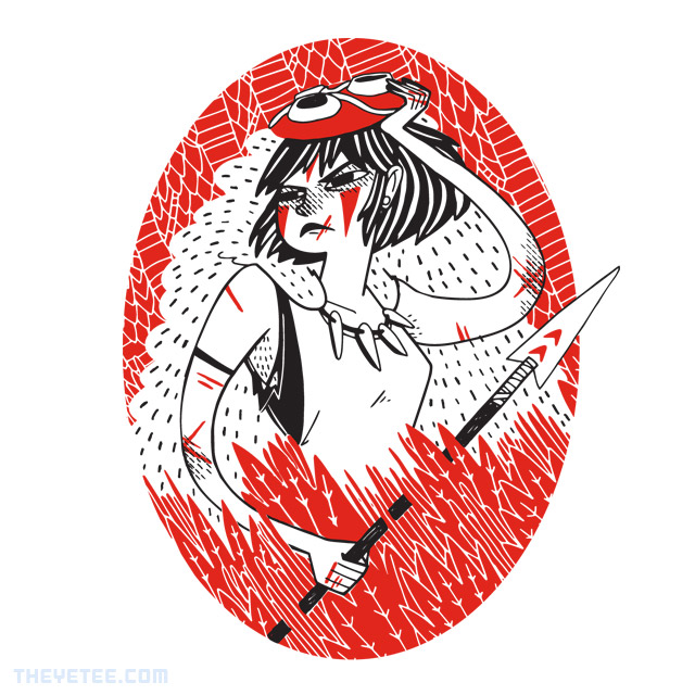 The Yetee: Wolf Warrior