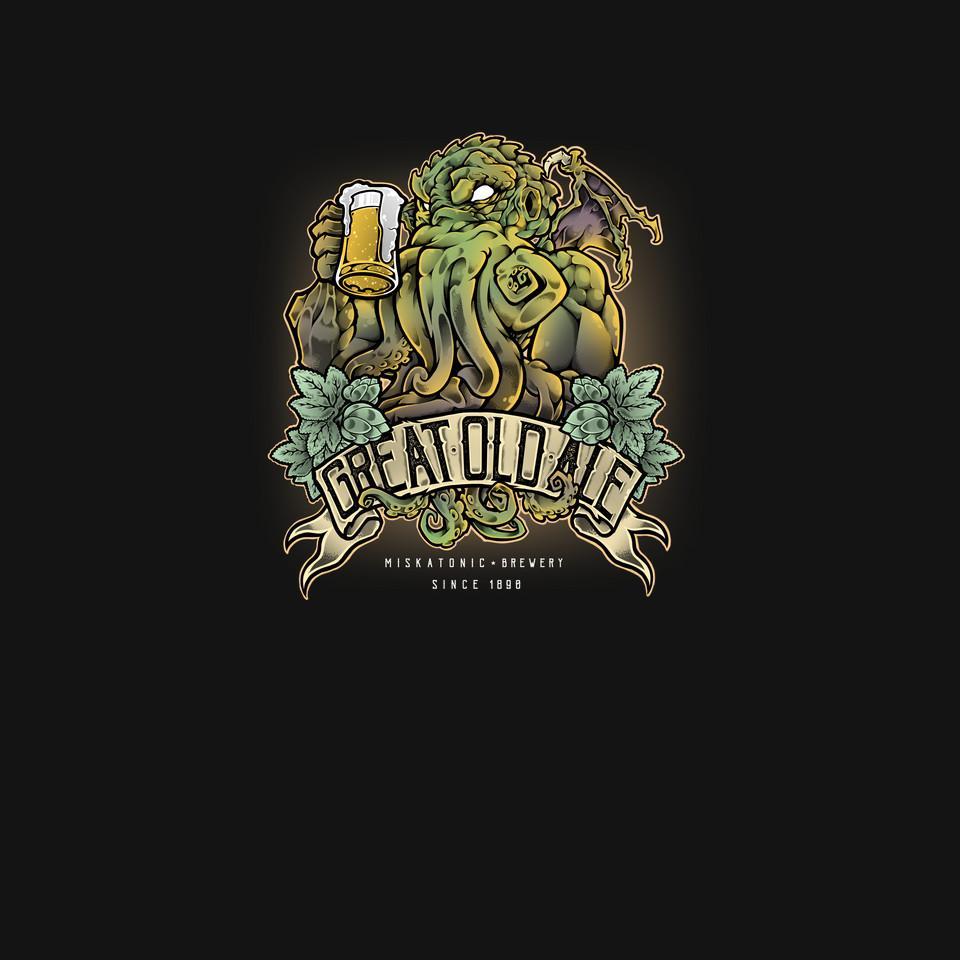 TeeFury: Miskatonic Brewery