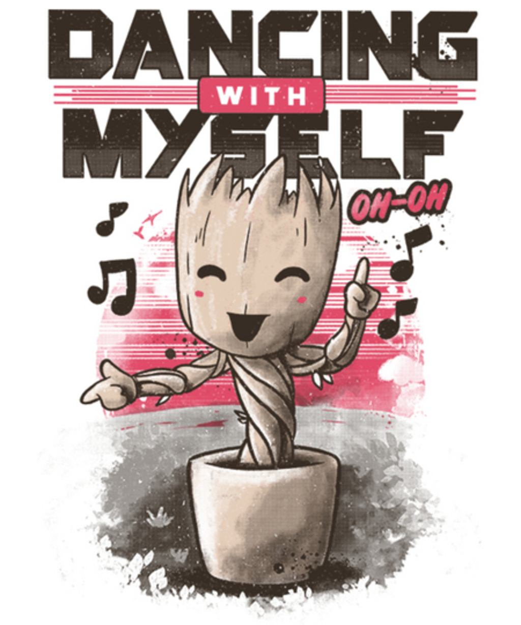 Qwertee: Dancing With Myself