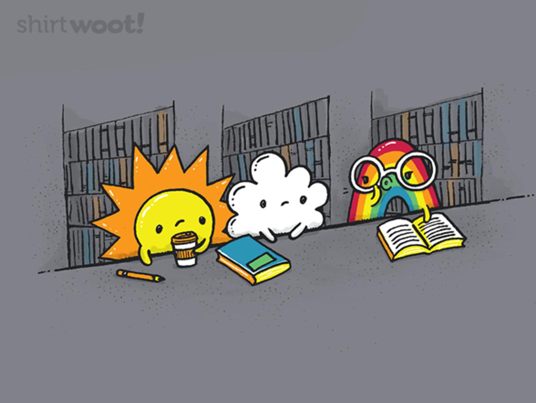 Woot!: Shhhhh... I'm Reading! - $15.00 + Free shipping