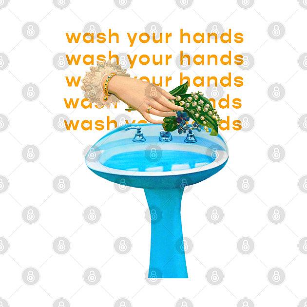TeePublic: Wash Your Hands