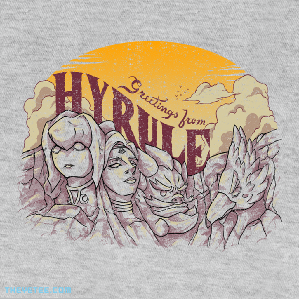 The Yetee: Greetings from Hyrule