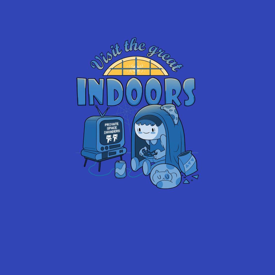 TeeFury: Visit The Great Indoors