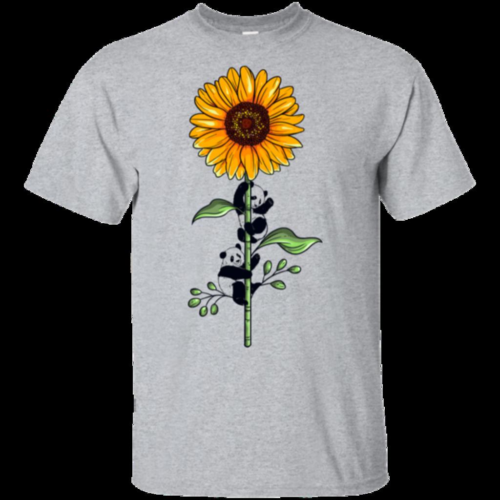 Pop-Up Tee: Sunflower Panda