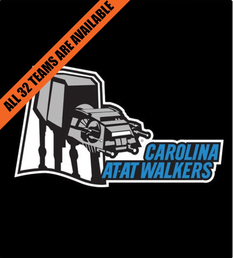 Shirt Battle: Carolina AtAt Walkers