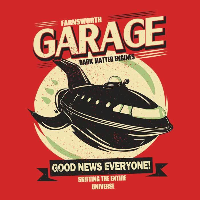 Once Upon a Tee: Farnsworth Garage
