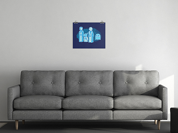 "Woot!: Luminous Beings 8"" x 10"" Matte Poster"