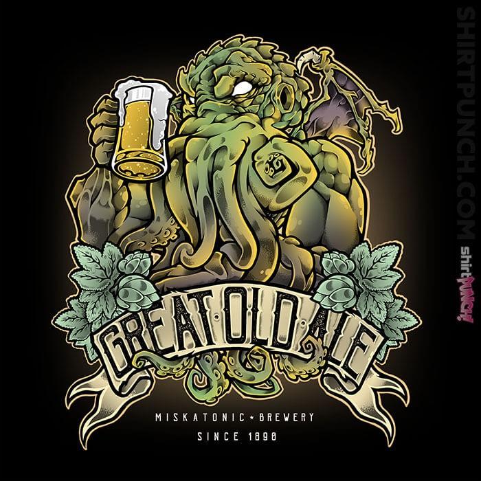 ShirtPunch: Miskatonic Brewery