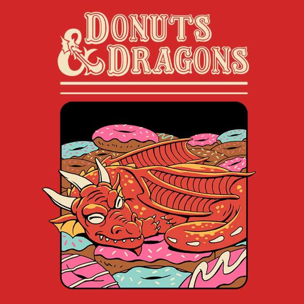 Once Upon a Tee: Donuts and Dragons